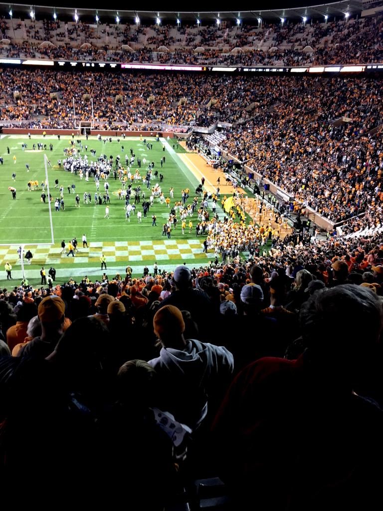 South Carolina - Tennessee Game