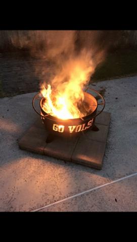 Go Vols firepit