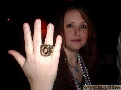 Sportin' a '97 SEC Championship Ring
