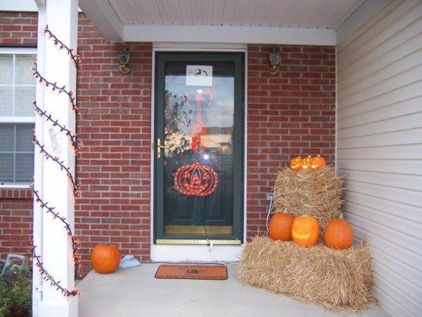 front door, before dark