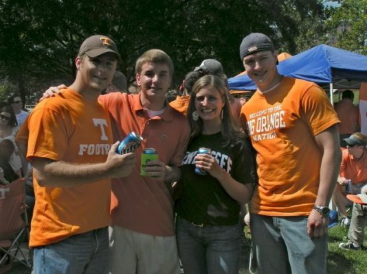 Tailgating before 06 Florida Game