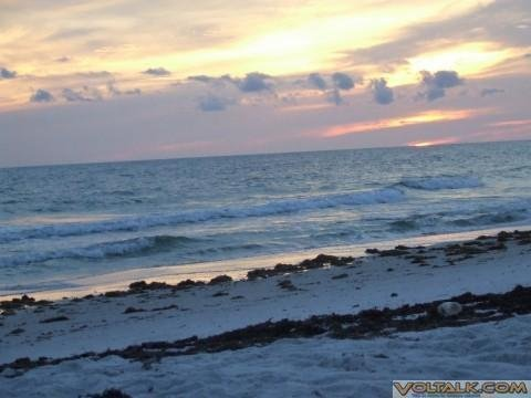 Cape San Blas, FL. '07 - Sunset