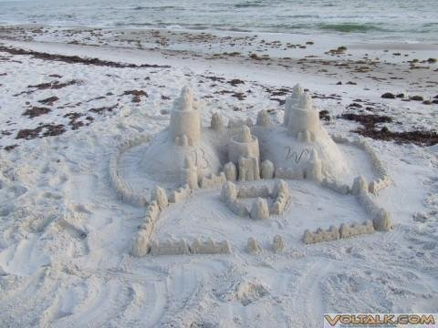 Cape San Blas, Fl. '07 - Sandcastle
